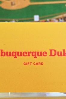 Abq Dukes Gift Card